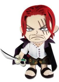 One Piece – Shanks 8″ Plush Anime Plushies