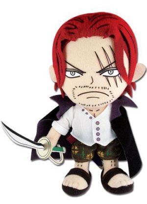 One Piece – Shanks 8″ Plush Anime Plushies