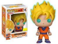 Dragon Ball Z Glow-in-the-Dark Super Saiyan Goku Pop! Vinyl Figure – Exclusive Figures