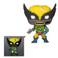 Marvel Zombies Wolverine Glow-in-the-Dark Pop! Vinyl Figure – Exclusive Figures
