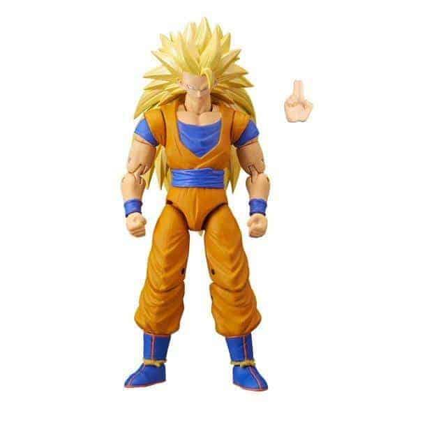 Dragon Ball Stars Action Figure – Super Saiyan 3 Goku Action Figures