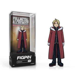 Fullmetal Alchemist: Brotherhood Edward Elric FiGPiN Enamel Pin Pins 4