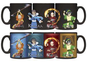 Avatar the Last Airbender Heat Changing Ceramic Mug Mugs