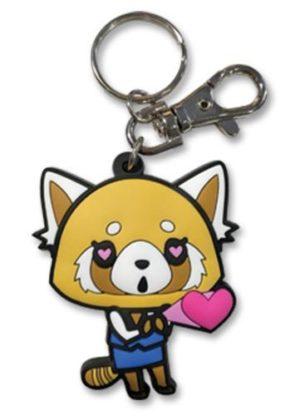 Aggretsuko – In Love PVC Key Chain Keychains