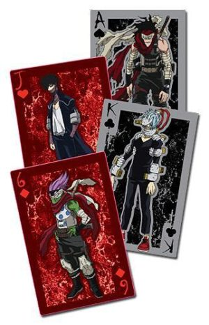 My Hero Academia Villains Playing Cards Playing Cards