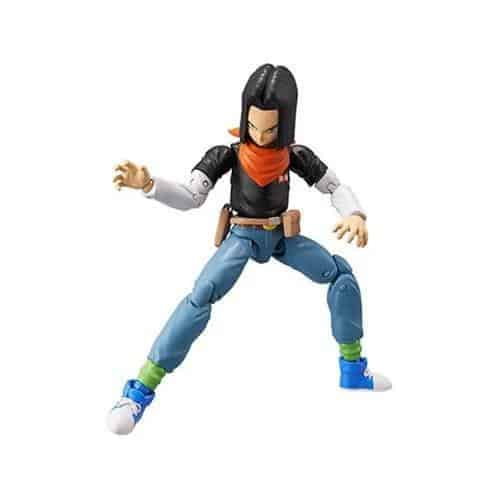 Dragon Ball Stars Action Figure – Android 17 Action Figures