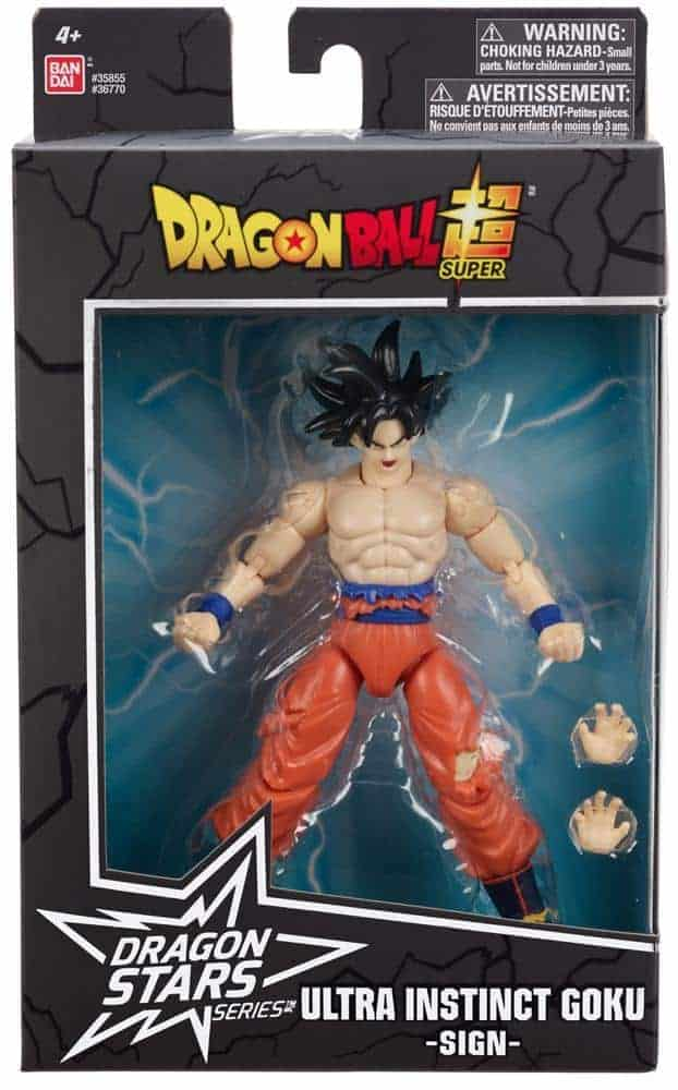 Dragon Ball Stars Super Instinct Goku Action Figure (Wave 15) Action Figures 3