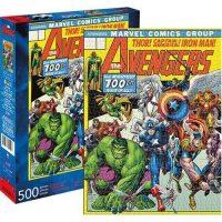 Avengers Cover 500-Piece Puzzle Puzzles