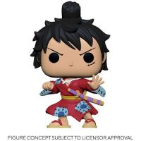 One Piece Luffy in Kimono Pop! Vinyl Figure Figures