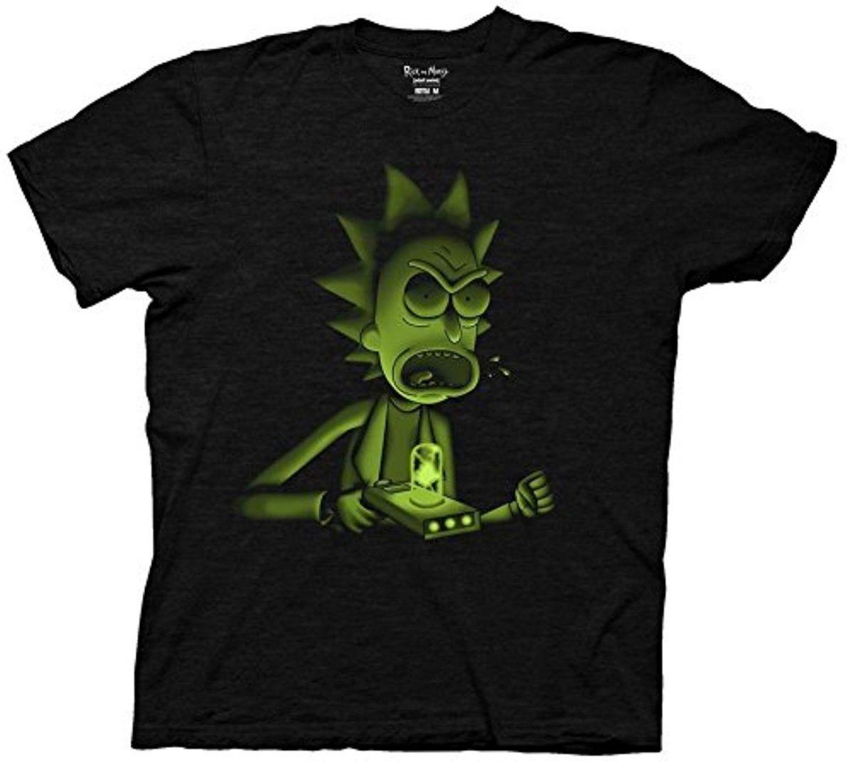 Rick and Morty Under Lit Rick Adult T-Shirt T-Shirts