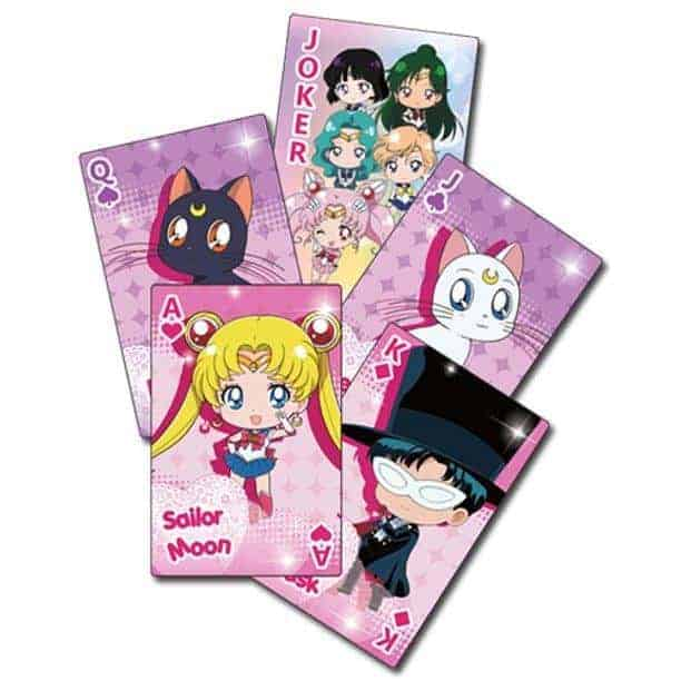 Sailor Moon Chibi Group Playing Cards Playing Cards