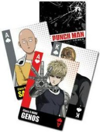 One-Punch Man Characters Bloopers Group Playing Cards Playing Cards