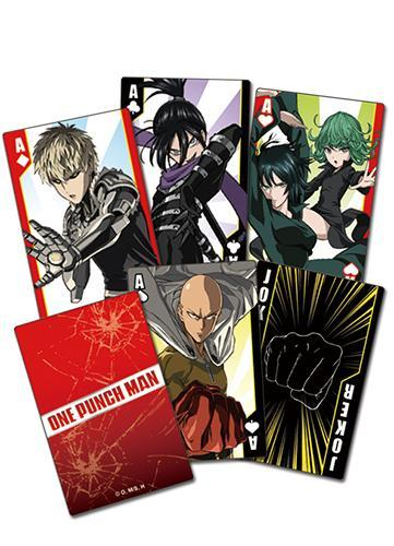 One-Punch Man Screenshot Playing Cards Playing Cards