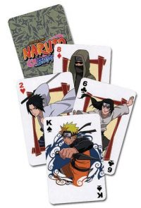 Naruto Shippuden Playing Cards Playing Cards