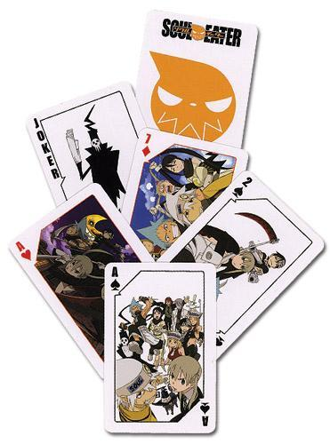 Soul Eater Playing Cards Playing Cards