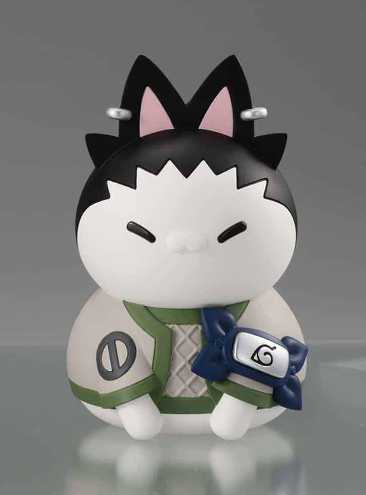 Nyanto! The Big Nyaruto Series Shikamaru Nara Figures
