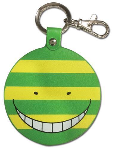 Assassination Classroom Nameteru Koro Sensei PU Keychain Keychains