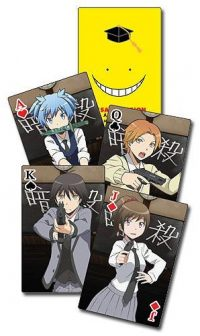 Assassination Classroom Group Playing Cards Playing Cards