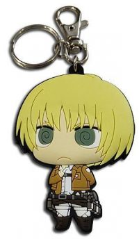 Attack on Titan Chibi Armin in Dedicated Stance PVC Keychain Keychains