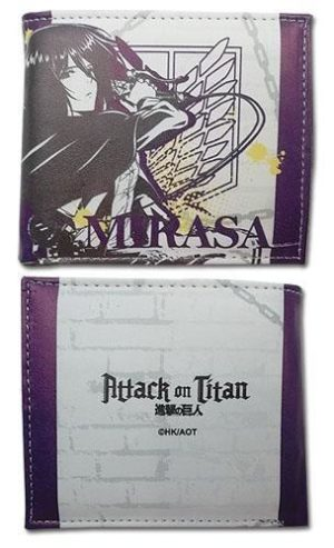 Attack on Titan Mikasa Themed Wallet Wallets