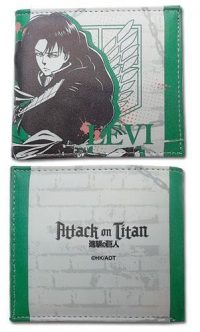 Attack on Titan Levi Themed Wallet Wallets