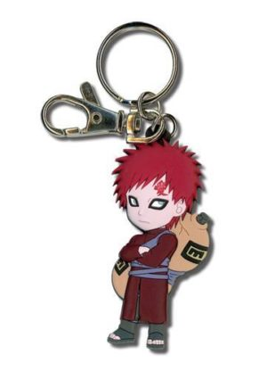 Naruto Shippuden Chibi Gaara PVC Keychain Keychains