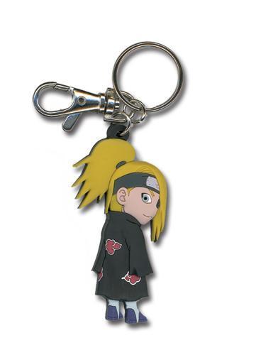 Naruto Shippuden Chibi Deidara PVC Keychain Keychains