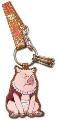 Naruto Tonton Leather Keychain Keychains