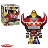 Mighty Morphin Power Rangers Metallic Megazord 6″ Super Pop! Figure – Exclusive Figures
