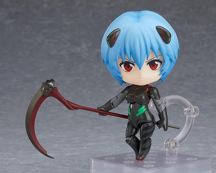 Rebuild Of Evangelion – Rei Ayanami Nendoroid Figure (Plugsuit Ver.) Figures 4
