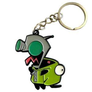 Invader Zim Crazy Gir Keychain Keychains