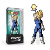 Dragon Ball Z Super Saiyan Vegeta FiGPiN Enamel Pin Pins
