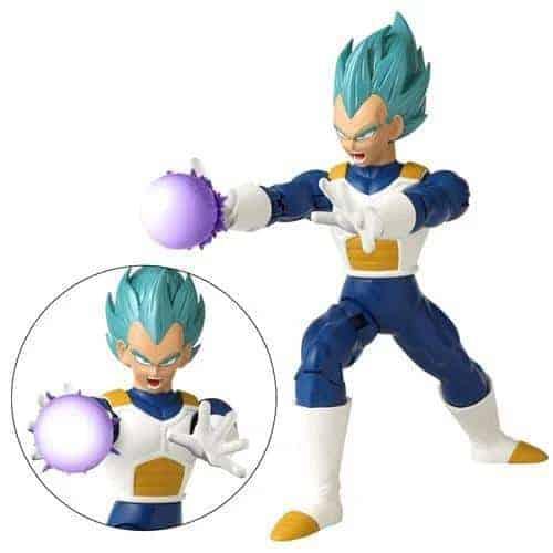 Dragon Ball Attack Super Saiyan Blue Vegeta 7″ Action Figure Action Figures 4