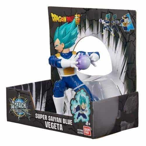 Dragon Ball Attack Super Saiyan Blue Vegeta 7″ Action Figure Action Figures 6
