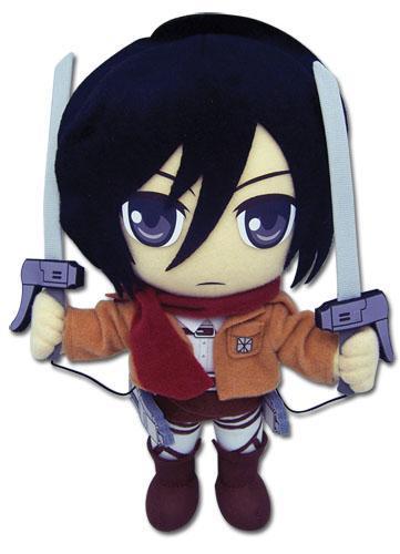 Attack on Titan Mikasa Ackerman 8″ Plush Anime Plushies