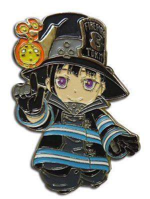 Fire Force Maki Oze Chibi Pin Pins
