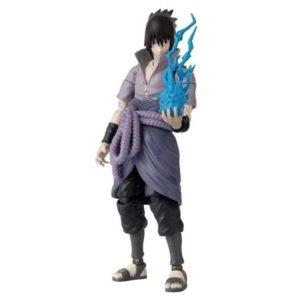 Naruto Shippuden Sasuke Uchiha Anime Heroes Action Figure Action Figures