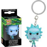 Rick & Morty Hologram Rick Clone Keychain Keychains