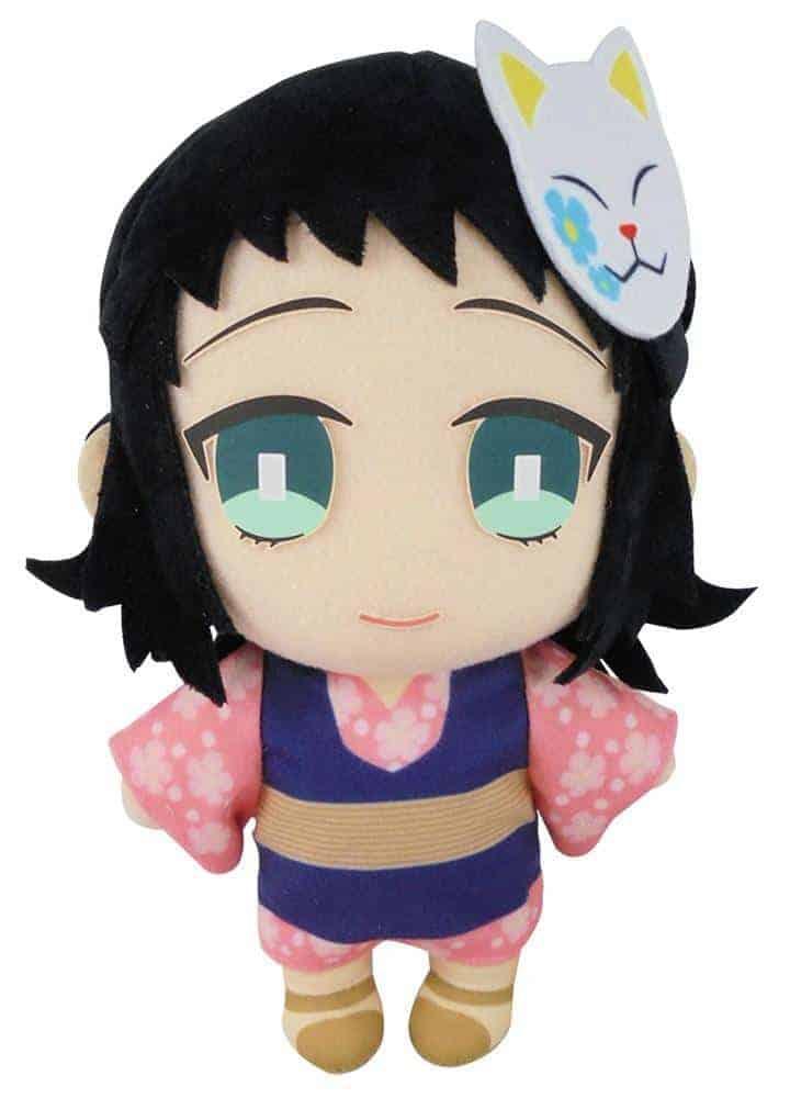 Demon Slayer Makomo wearing Warding Mask 8″ Plush Anime Plushies