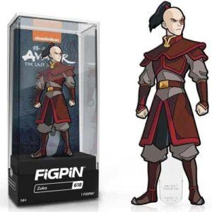 Avatar: The Last Airbender Zuko FiGPiN Classic 3Inch Enamel Pin Pins
