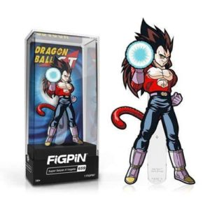 Dragon Ball GT Super Saiyan 4 Vegeta FiGPiN Classic Enamel Pin Pins