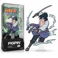 Naruto Shippuden Sasuke Version 2 FiGPiN Classic Enamel Pin Pins
