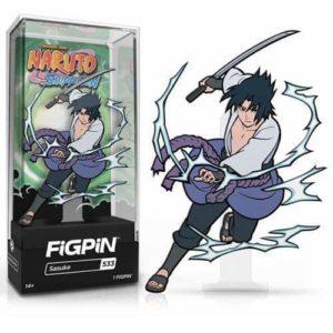 Naruto Shippuden Sasuke Uchiha FiGPiN Classic Enamel Pin (Version 2) Pins