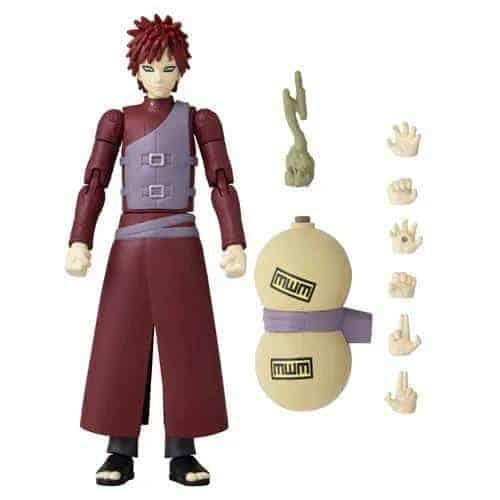 Naruto Shippuden Gaara Anime Heroes Action Figure Action Figures