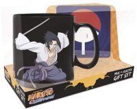 Naruto Shippuden Naruto and Sasuke Magic Mug and Coaster Gift Set Gift Sets