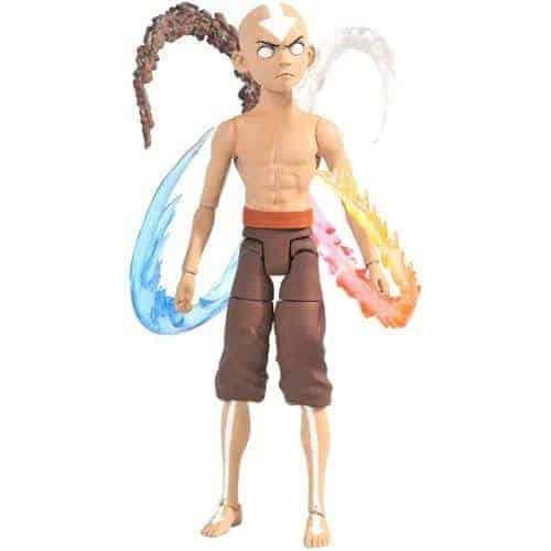 Avatar: The Last Airbender Series 4 Final Battle Aang Deluxe Action Figure Action Figures 4