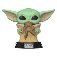 Star Wars: The Mandalorian The Child with Frog Pop! Vinyl Figure Figures