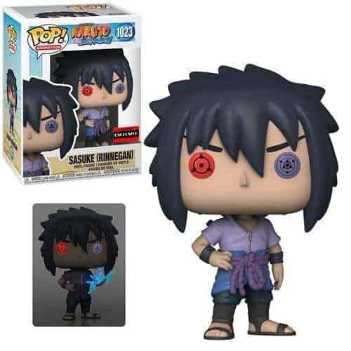 Naruto Sasuke Uchiha Rinnegan Pop! Vinyl Figure – AAA Anime Exclusive Figures 4