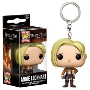 Attack on Titan Annie Leonhart Pocket Pop! Keychain Keychains