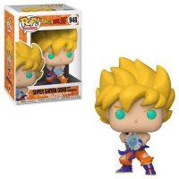 Dragon Ball Z Super Saiyan Goku with Kamehameha Wave Pop! Vinyl Figure Figures